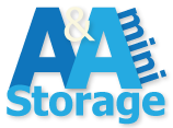 A & A Mini Storage Logo